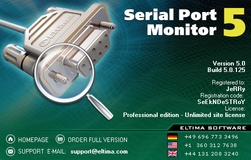 Eltima Serial Port Monitor