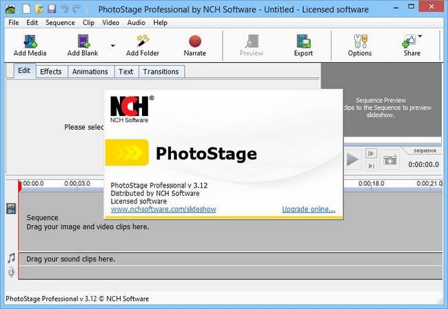 PhotoStage Slideshow Producer Professional
