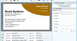 AMS Software Business Card Maker