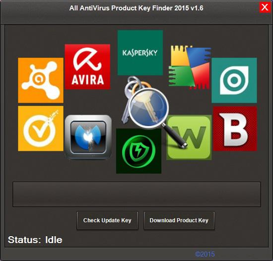 All AntiVirus Product Key Finder