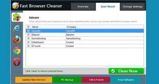 Fast Browser Cleaner