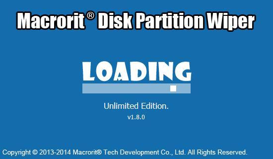 Macrorit Disk Partition Wiper