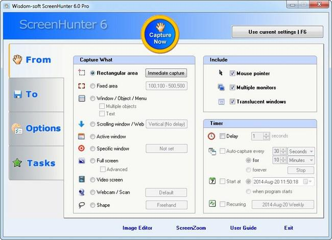 Wisdom Software ScreenHunter